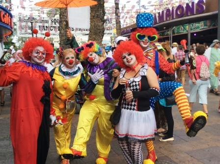 Benidorm British Fancy Dress Party
