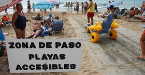 Playas accesibles