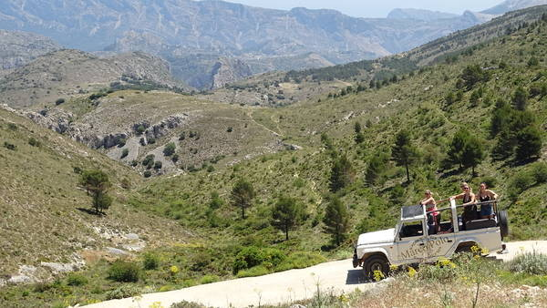 Jeep Tour Benidorm